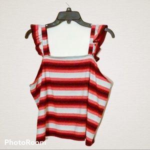 Sale! ❤️4 for $20❤️ BP Multi-Stripe Tank Top